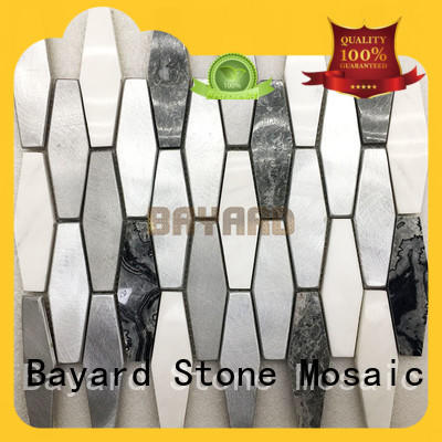 Bayard upscale round mosaic tiles supplier for bathroom