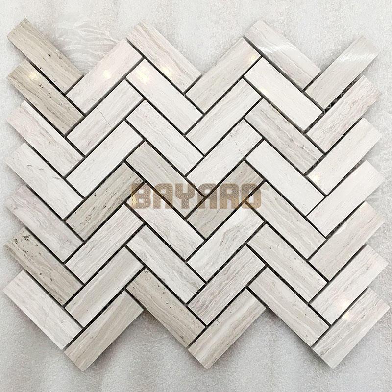 marble natural stone mosaic wall tile