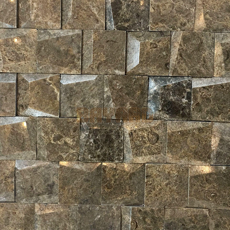 Spanish marble stone mosaic tiles brown mosaic tile stone wall mosaic stone mosaic bathroom tiles