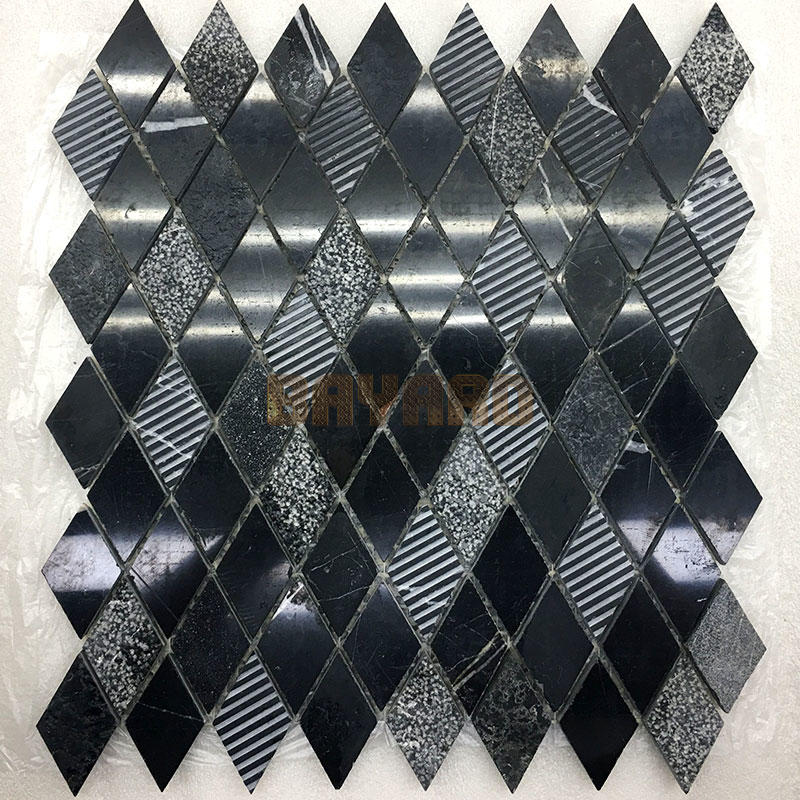 stone by stone mosaic tiles
