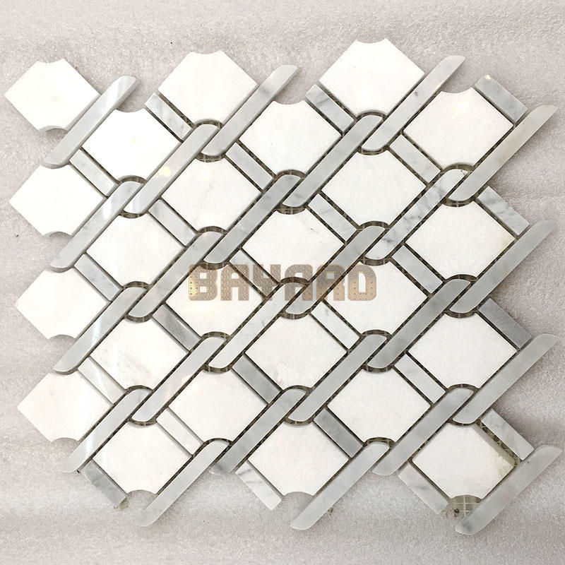marble glass mosaic tile