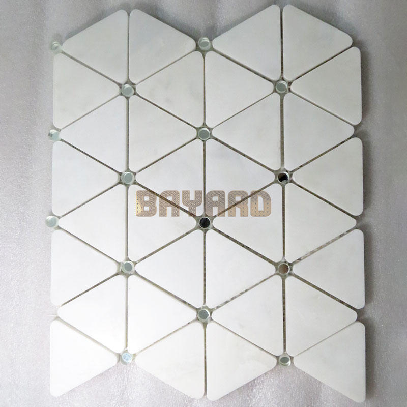 Custom Glass Mosaic Wall Tiles Marble Mosaic Tile Sheets Bayard