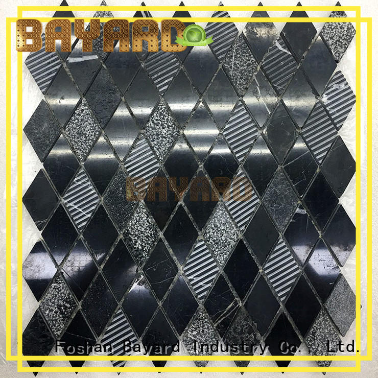 Bayard high quality square mosaic tiles factory price for decoration