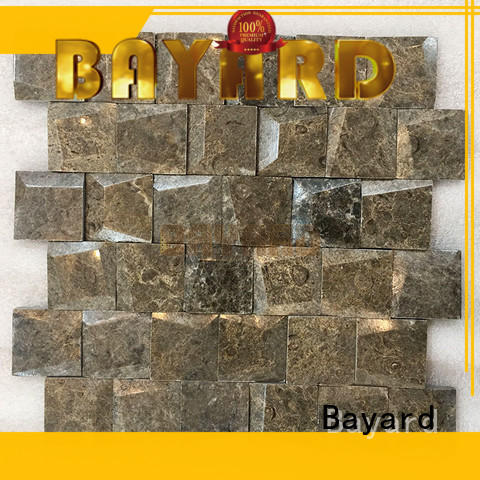 Bayard high standards marble mosaic tile factory price for supermarket
