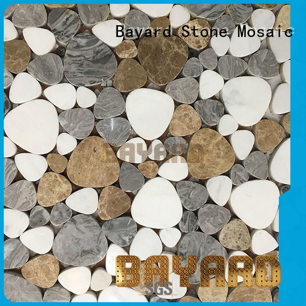 elegant brick mosaic tile metal dropshipping for foundation