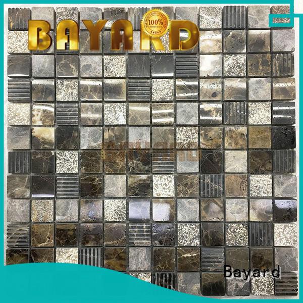 Bayard high quality stone mosaic tile backsplash line for hotel