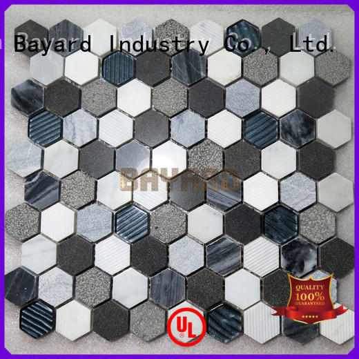 high-end home depot mosaic tile marquina for decoration