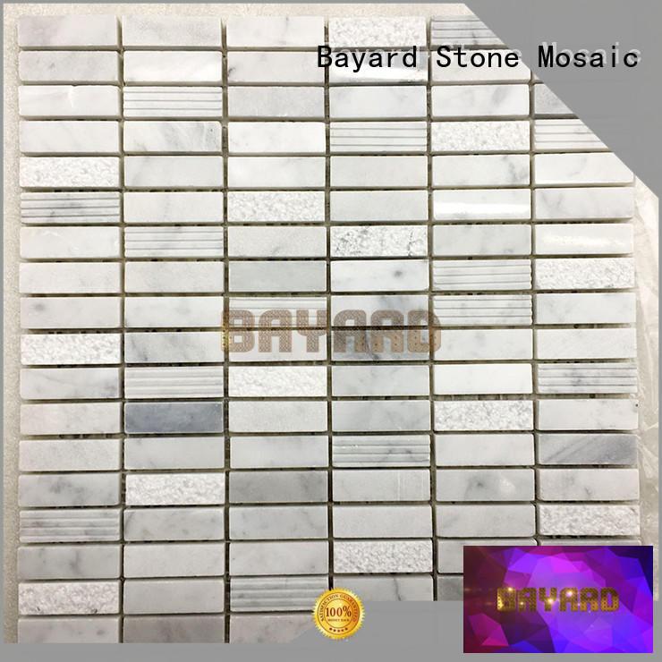 Bayard grey home depot mosaic tile for wholesale for supermarket