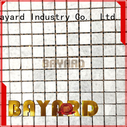 Bayard tiles black and grey mosaic tiles shop now for hotel lobby