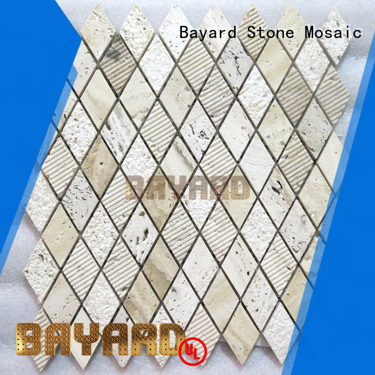 fashion design travertine mosaic tiles cheap for wholesale for hotel lobby