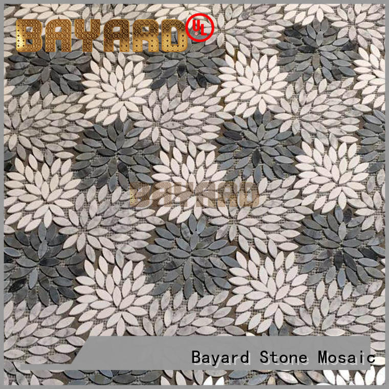 high quality mosaic kitchen wall tiles emperador newly for wall decoration