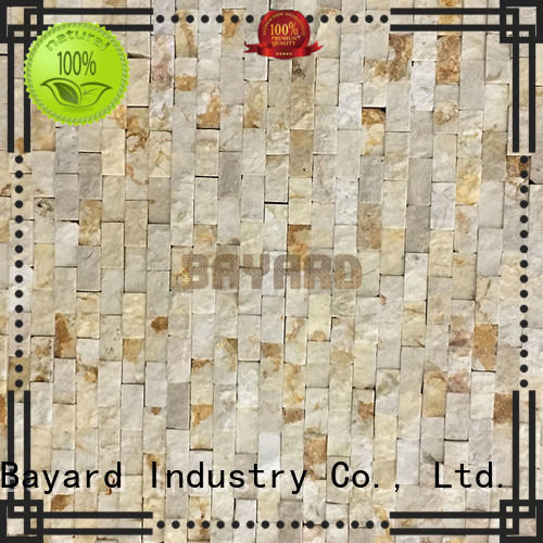 Bayard cool gray mosaic floor tile in different colors for hotel lobby