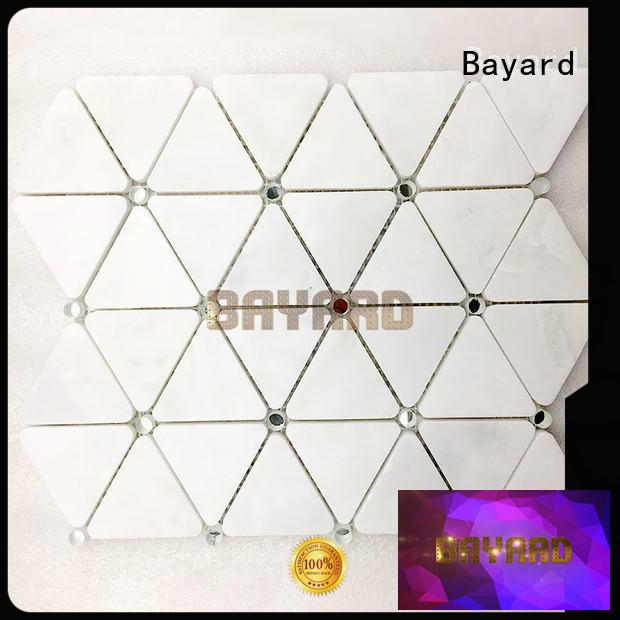 Bayard fantastic dark grey mosaic tiles marketing for wall decoration