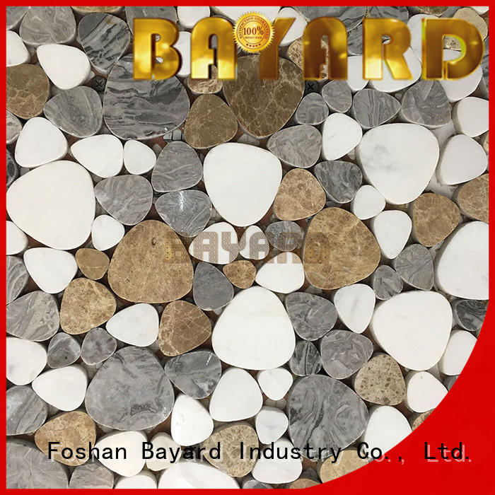 Bayard upscale mosaic stones factory price for bathroom