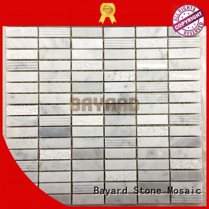 stone mosaic style tiles sheets for hotel Bayard