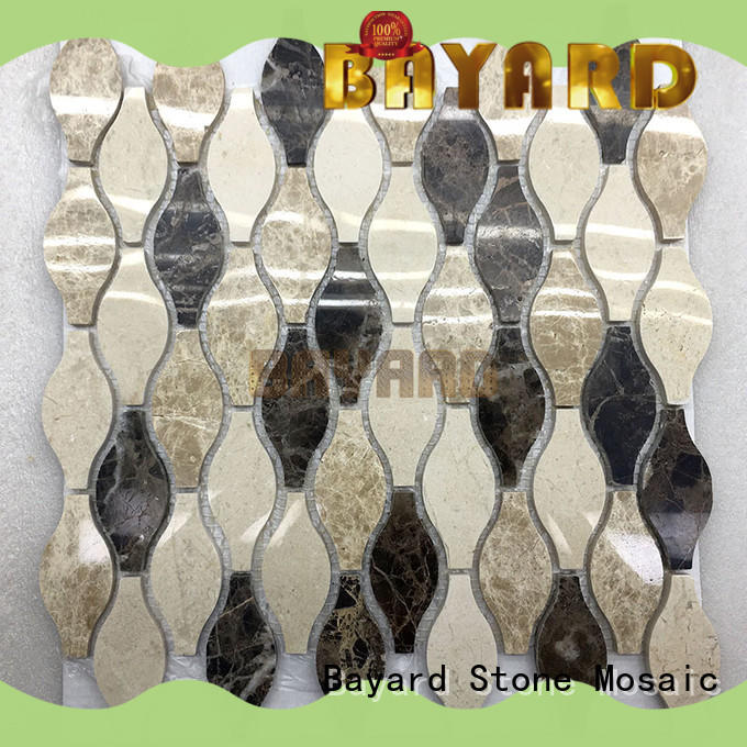 upscale round mosaic tiles shape newly for wall decoration