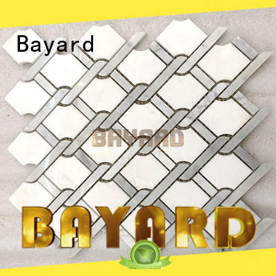 green grey mosaic floor tiles many Bayard