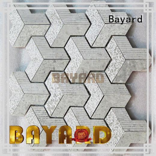 Bayard floor metal mosaic tiles in china