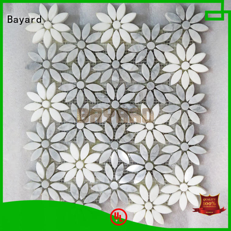 Bayard widely used metal mosaic tiles factory price for bathroom