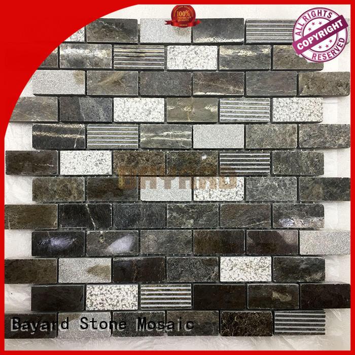 Bayard dark mosaic bathroom tiles for decoration