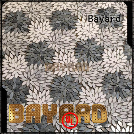 fashion design mosaic tiles craft white newly for wall decoration