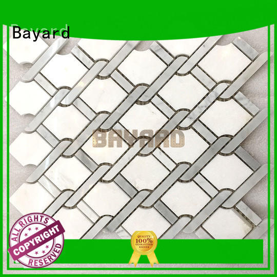 Bayard professional mosaic tile supplies for wholesale for wall decoration