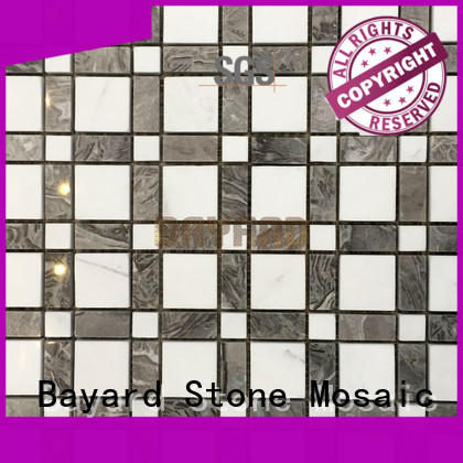 Bayard low cost glass mosaic wall tiles owner for wall decoration