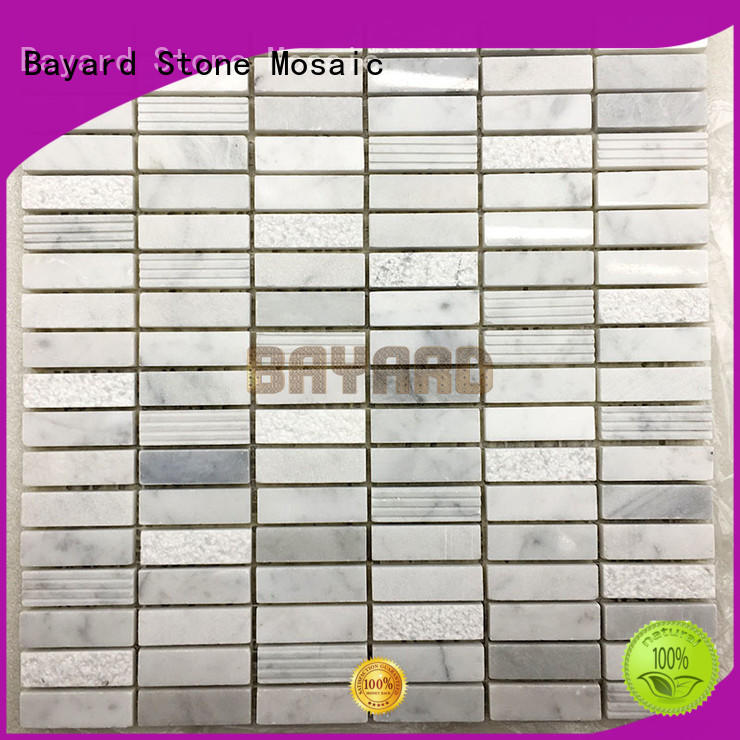 Bayard dark mosaic bathroom tiles for wholesale for decoration