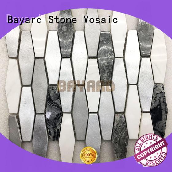 high-end mosaic tile splashback floor for wall decoration