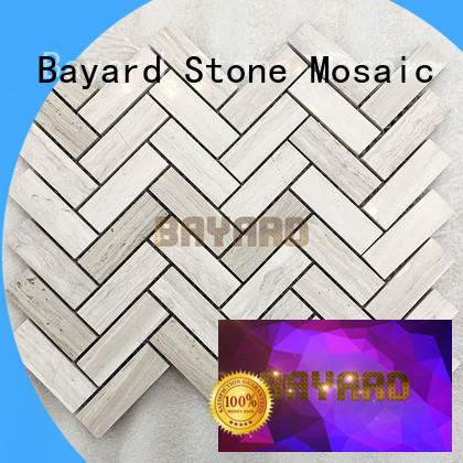 Bayard black mosaic flooring dropshipping