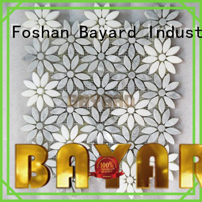 Bayard tile mosaic stones in china for foundation