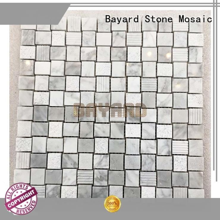 affordable marble mosaic tile marquina factory for swimming pool