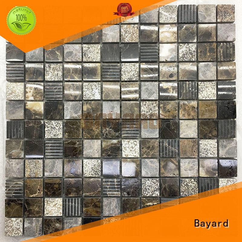 hot-sale grey mosaic kitchen wall tiles dropshipping for swimming pool Bayard