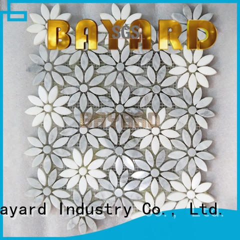 Bayard circle metal mosaic tiles grab now for hotel lobby