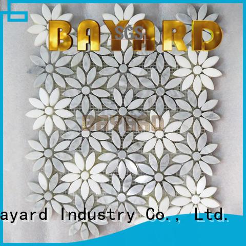 Bayard circle metal mosaic tiles grab now for hotel lobby