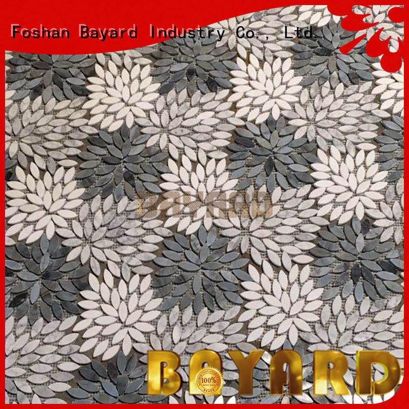 Bayard high-end gray mosaic tile order now for wall decoration