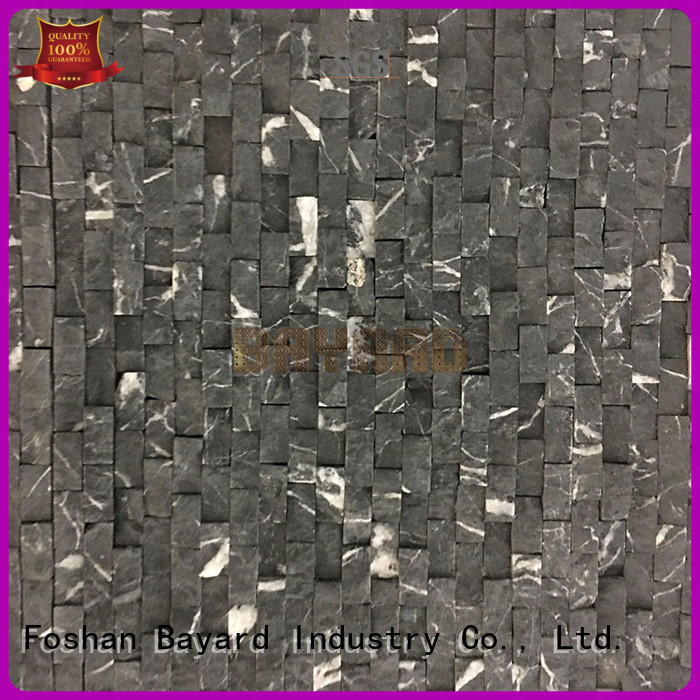 Bayard stone marble and glass mosaic tile from china for bathroom