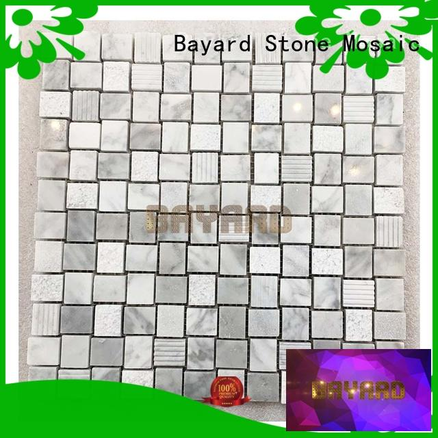 hot-sale mosaic bathroom tiles stone for supermarket