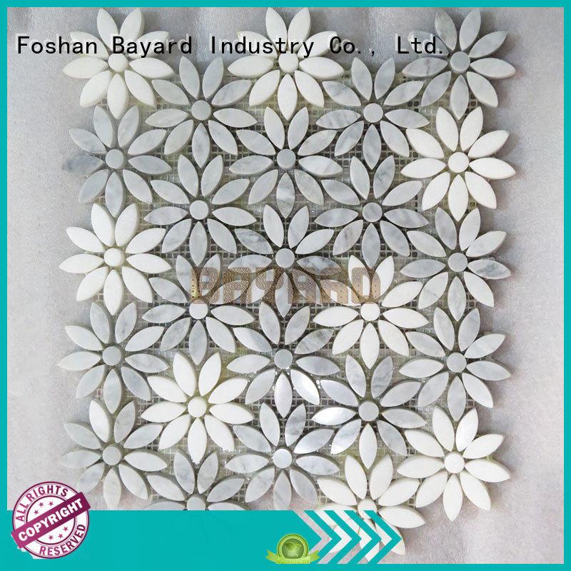 silver grey mosaic tiles green for bathroom Bayard