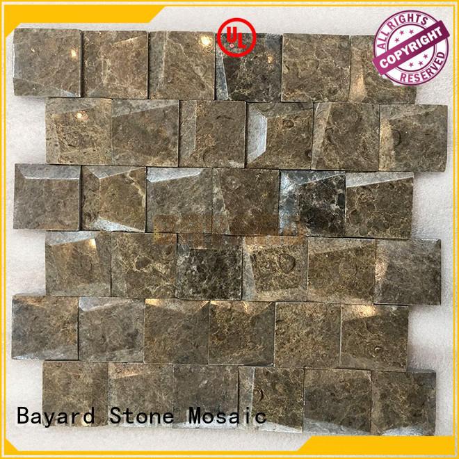 Bayard natural stone mosaic for bathroom