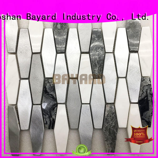 Bayard colors mosaic border tiles factory for hotel lobby