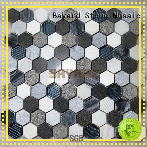 high-end mosaic wall tiles factory price for supermarket