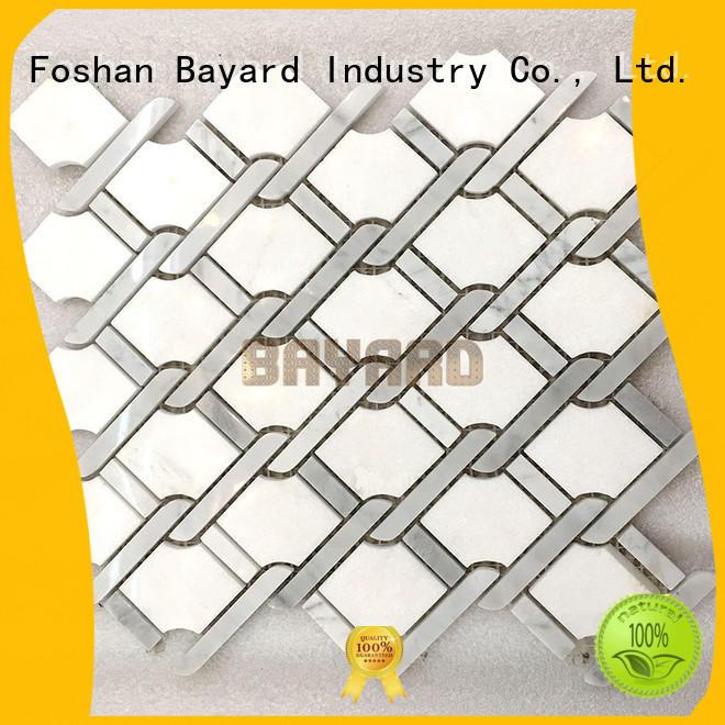 Bayard high-end 2x2 mosaic tile in china
