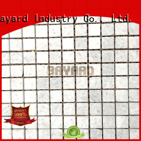 widely used rectangle mosaic tiles faces overseas market for bathroom