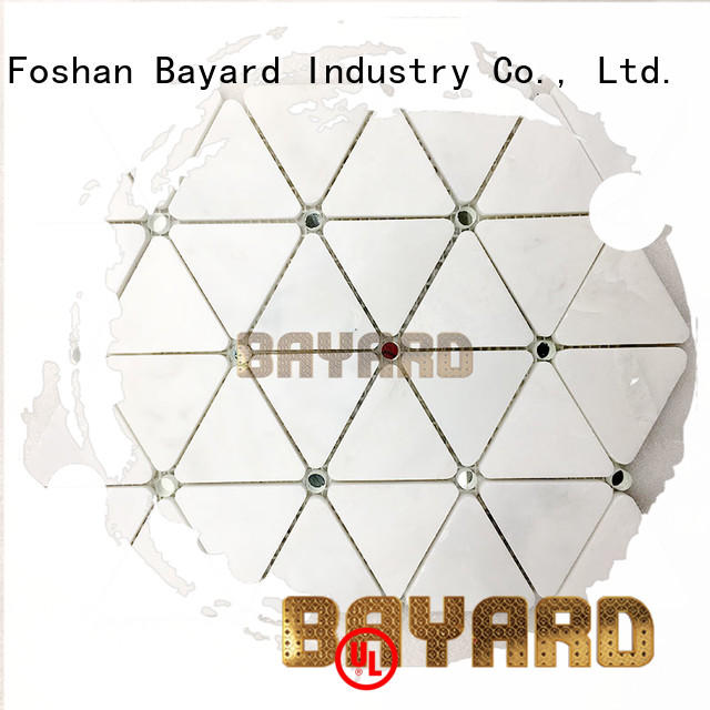 Bayard hexagan light grey mosaic tiles owner for wall decoration