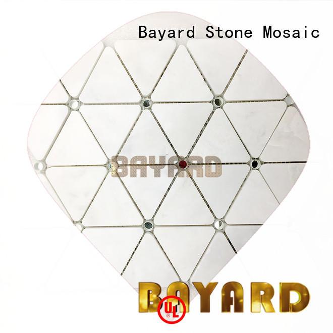 Bayard mix rectangle mosaic tiles overseas market for wall decoration