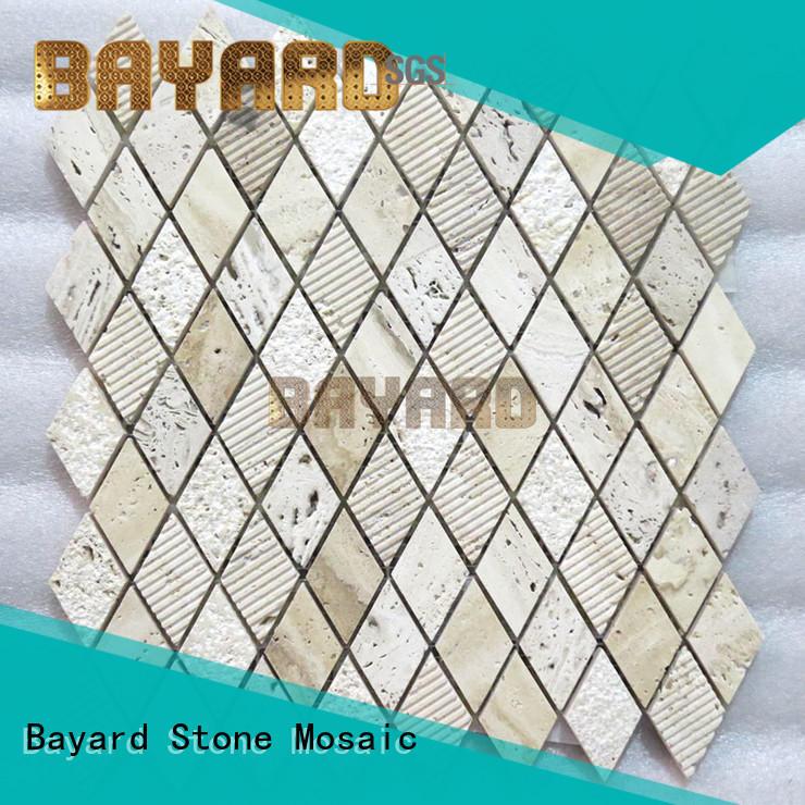 Bayard mosaic stone mosaic floor tiles for wholesale for bathroom