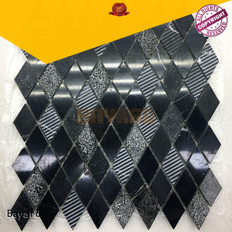 Bayard affordable square mosaic tiles supplier for TV wall