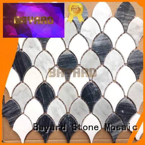 Bayard elegant grey mosaic floor tiles dropshipping for foundation