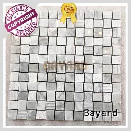 affordable marble mosaic tile marquina in china for hotel